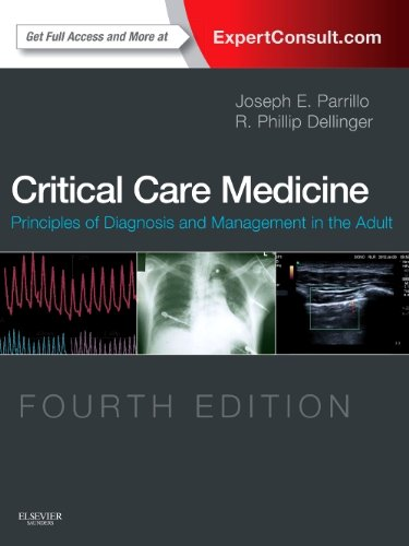 Critical Care Medicine Principles of Diagnosis and Management in the Adult (Expert Consult - Online and Print) 4th 2013 edition cover