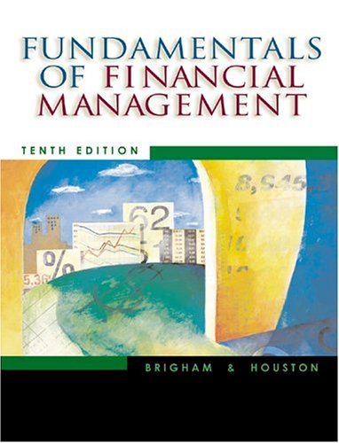 Fundamentals of Financial Management  10th 2004 edition cover