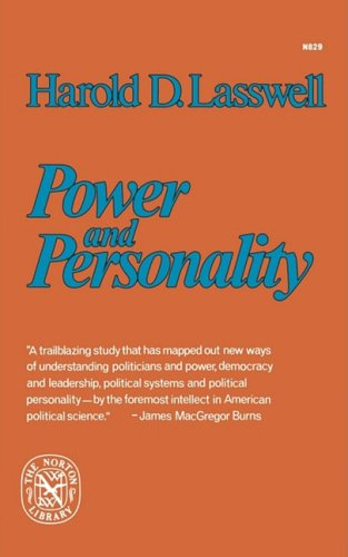 Power and Personality   1976 9780393008296 Front Cover