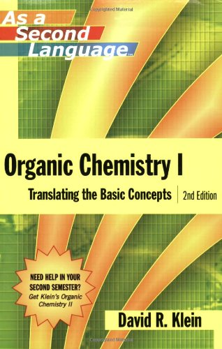 Organic Chemistry I Translating the Basic Concepts 2nd 2008 (Revised) edition cover
