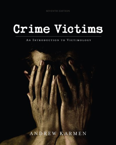 Crime Victims An Introduction to Victimology 7th 2010 edition cover