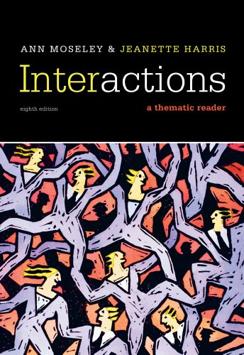 Interactions A Thematic Reader 8th 2012 edition cover