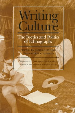 Writing Culture   1986 edition cover