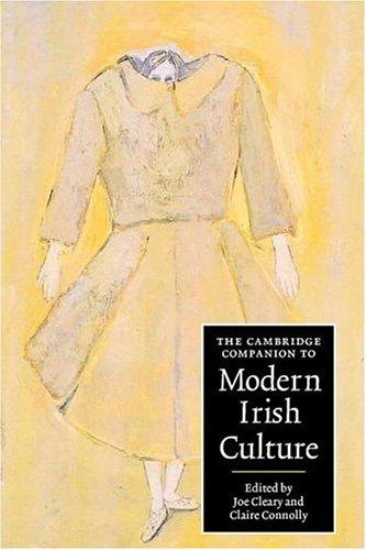 Cambridge Companion to Modern Irish Culture   2004 edition cover