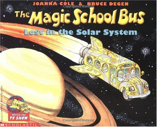 Magic School Bus Lost in the Solar System   1990 9780590414296 Front Cover