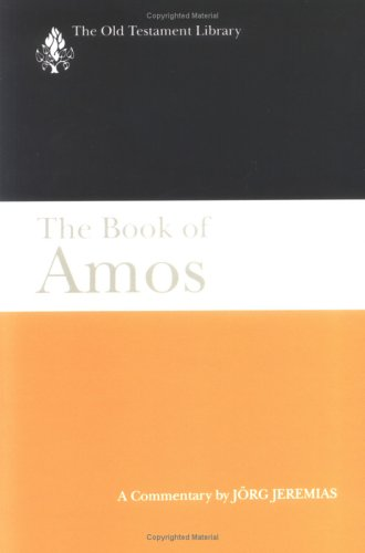Book of Amos A Commentary N/A edition cover