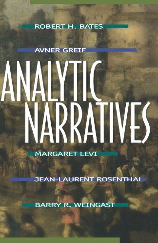 Analytic Narratives   1999 edition cover