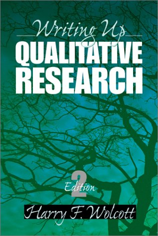Writing up Qualitative Research  2nd 2001 (Revised) edition cover