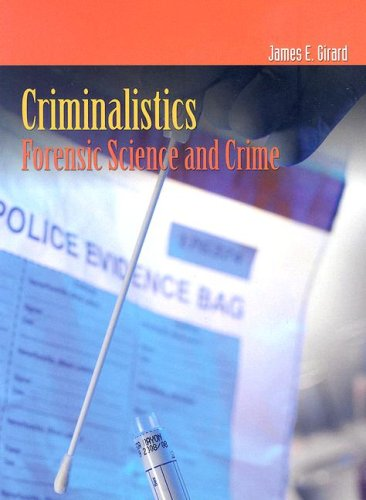Criminalistics Forensic Science and Crime  2008 edition cover