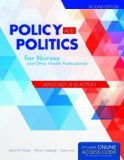 Policy and Politics for Nurses and Other Health Professionals  2nd 2016 edition cover
