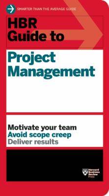 HBR Guide to Project Management   2013 edition cover