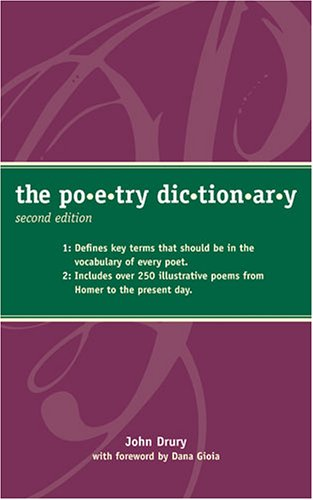 Poetry Dictionary  2nd 2005 9781582973296 Front Cover