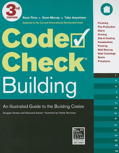 Code Check Building An Illustrated Guide to the Building Codes 3rd edition cover