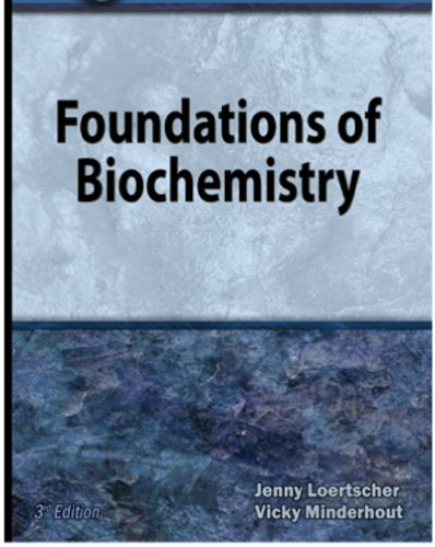 Foundations of Biochemistry  3rd edition cover