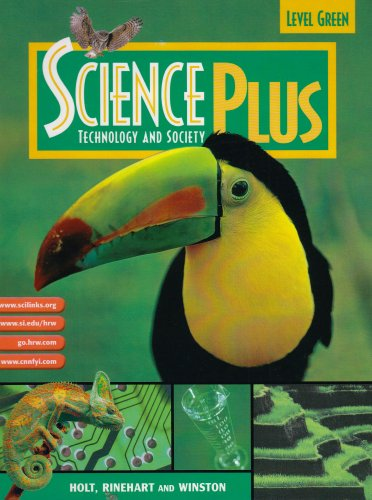 Holt Science Plus  Student Manual, Study Guide, etc. 9780030645297 Front Cover