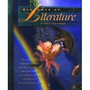 Elements of Literature First Course   1997 9780030968297 Front Cover