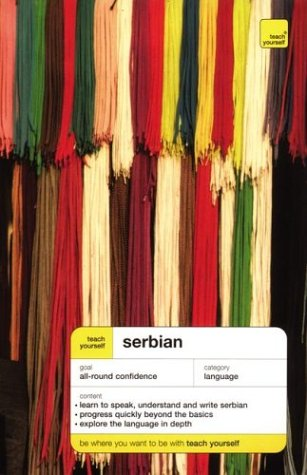Teach Yourself Serbian Complete Course   2003 edition cover
