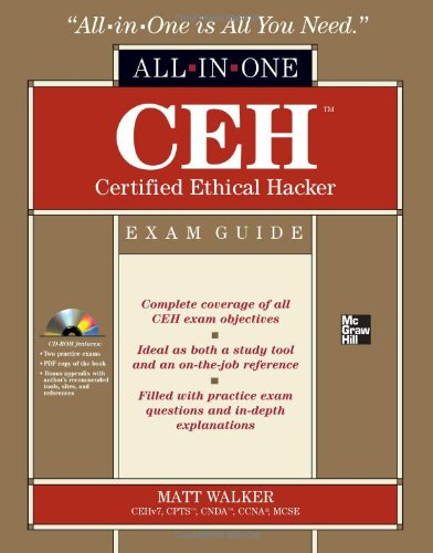 CEH Certified Ethical Hacker   2012 edition cover