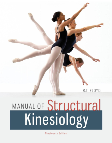 Manual of Structural Kinesiology  19th 2015 9780073369297 Front Cover