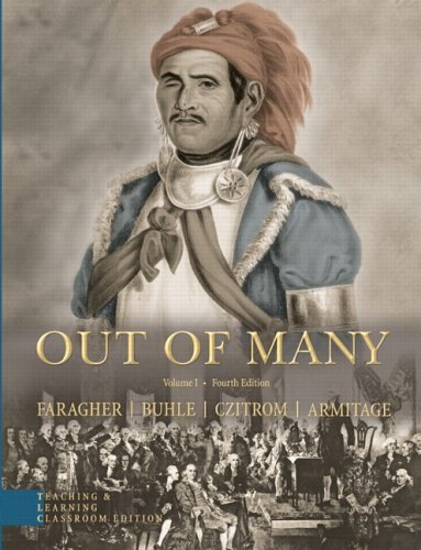 Out of Many, Volume 1 A History of the American People 4th 2006 edition cover