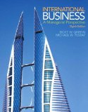 International Business A Managerial Perspective 8th 2015 edition cover