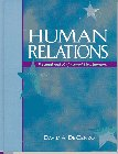 Human Relations Personal and Professional Development 1st 1997 edition cover