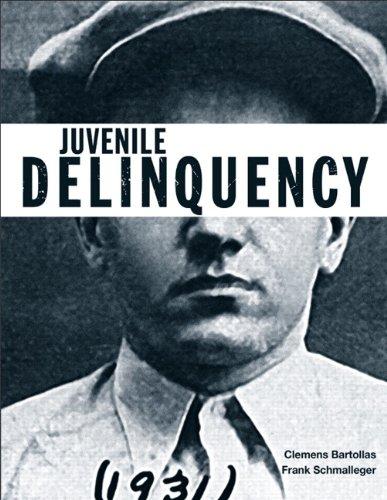 Juvenile Delinquency   2013 edition cover