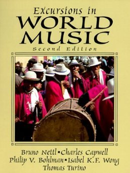 Excursions in World Music:  2nd 1996 9780137409297 Front Cover