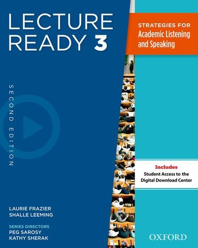 Lecture Ready  2nd 2013 (Student Manual, Study Guide, etc.) edition cover