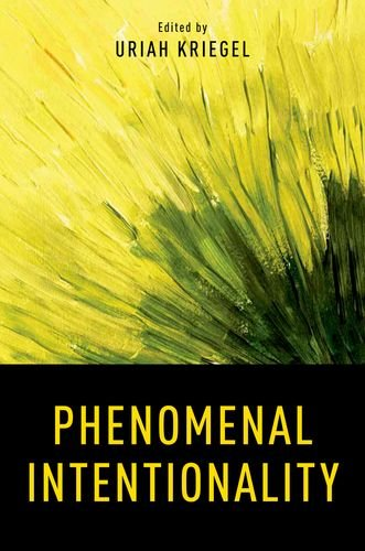 Phenomenal Intentionality  3rd 2012 9780199764297 Front Cover