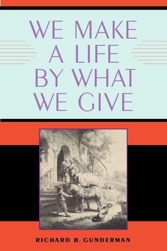 We Make a Life by What We Give   2009 edition cover