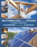 Mathematics for the Trades A Guided Approach Plus MyMathLab Access Card 10th 2015 edition cover