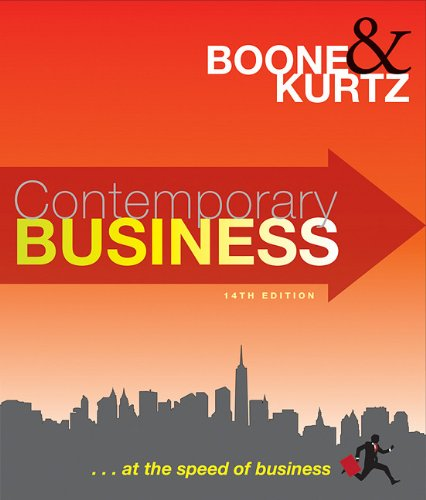 Contemporary Business  14th 2011 edition cover