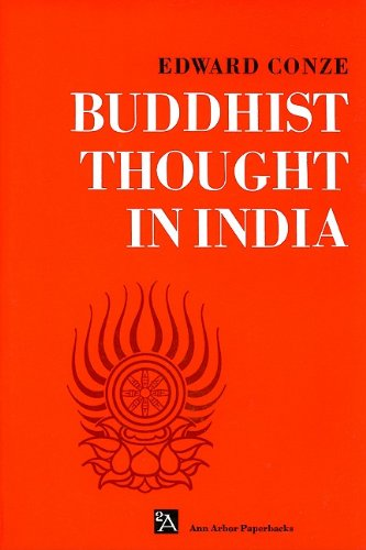 Buddhist Thought in India Three Phases of Buddhist Philosophy N/A edition cover