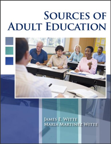 Sources of Adult Education  Revised  9780757559297 Front Cover