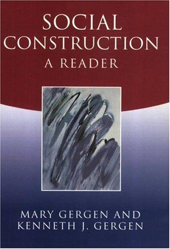 Social Construction A Reader  2003 edition cover
