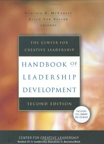 Center for Creative Leadership Handbook of Leadership Development  2nd 2004 (Revised) edition cover