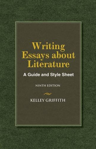 Writing Essays about Literature  9th 2014 edition cover