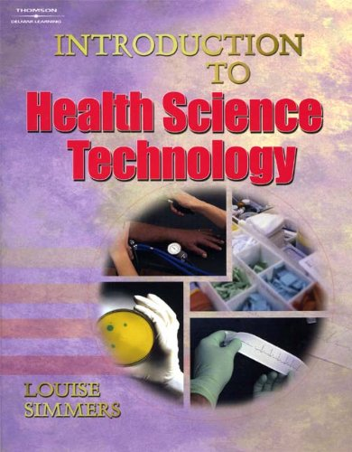 Introduction to Health Science Technology   2004 (Workbook) 9781401811297 Front Cover
