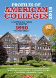 Profiles of American Colleges 2015  31st 2014 (Revised) edition cover