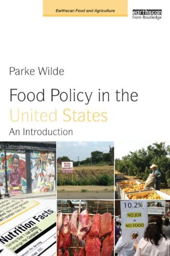 Food Policy in the United States An Introduction  2013 edition cover