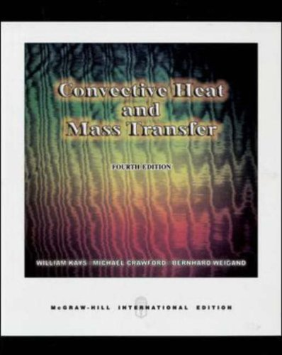 Convective Heat and Mass Transfer N/A edition cover
