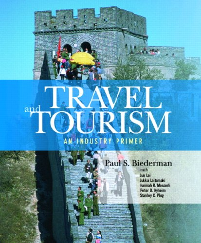 Travel and Tourism An Industry Primer  2008 edition cover
