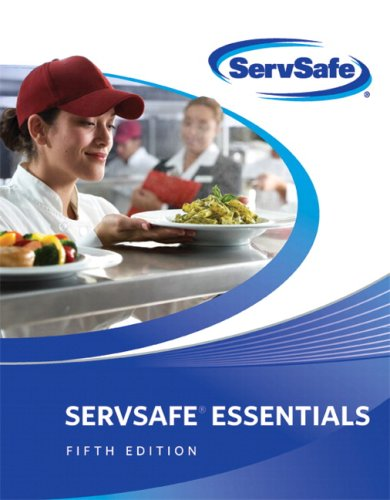 Servsafe Essentials  5th 2009 edition cover