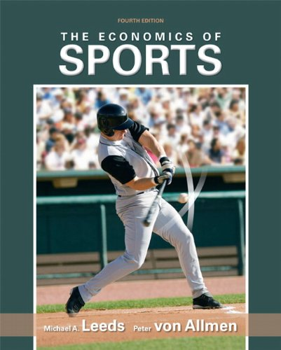 Economics of Sports  4th 2011 edition cover