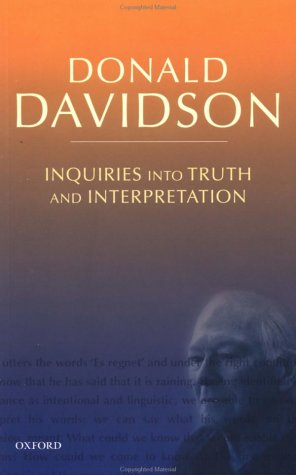 Inquiries into Truth and Interpretation  2nd 2001 edition cover