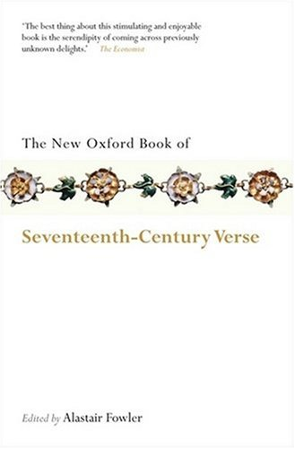 New Oxford Book of Seventeenth-Century Verse   2008 edition cover