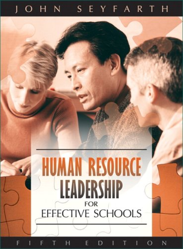 Human Resource Leadership for Effective Schools  5th 2008 edition cover