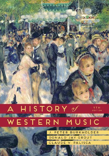 History of Western Music  9th 2014 9780393918298 Front Cover