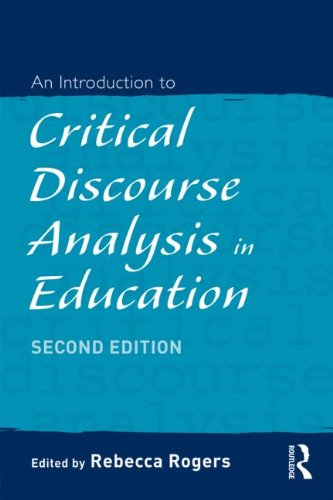 Introduction to Critical Discourse Analysis in Education  2nd 2011 (Revised) edition cover